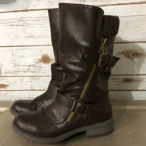 REPORT Boots - Size 7 1/2, Brown